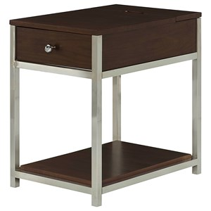 Hammary Xpress Charging Chairside Table