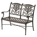 Hanamint Grand Tuscany Outdoor Bench - Item Number: 048160