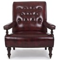 Hancock & Moore Accent Chairs by Hancock and Moore Fire Place Chair - Item Number: 5062