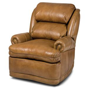 Hancock & Moore Austin Power Swivel Glider Wall-Hugger Recliner