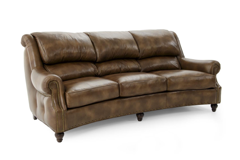 Hancock & Moore Westwood Sofa - Item Number: 6215-3 DOCUMENT LATTE