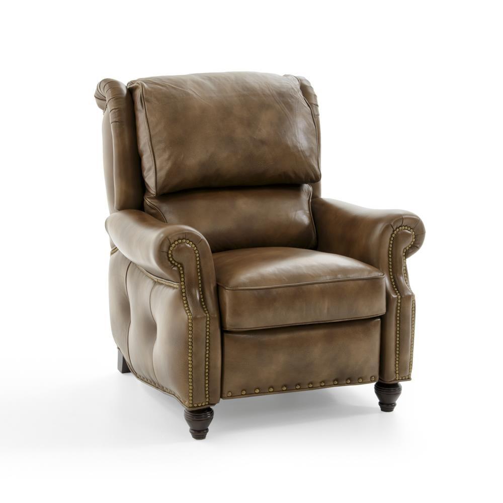 Push-Back Reclining Lounge Chair