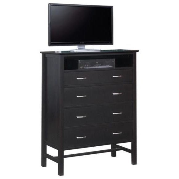 4-Drawer TV Hiboy