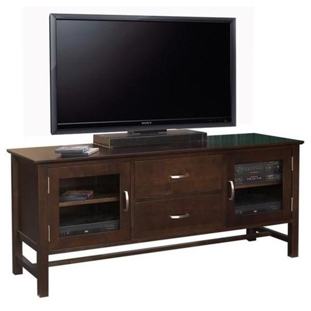 "Brooklyn 60"" HDTV Cabinet by Handstone at Jordan's Home Furnishings"