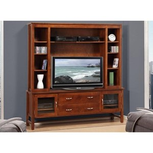 "Handstone Brooklyn 74"" HDTV Cabinet with Hutch"