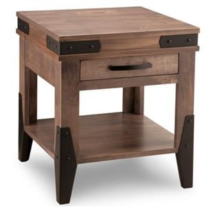 Handstone Chattanooga End Table