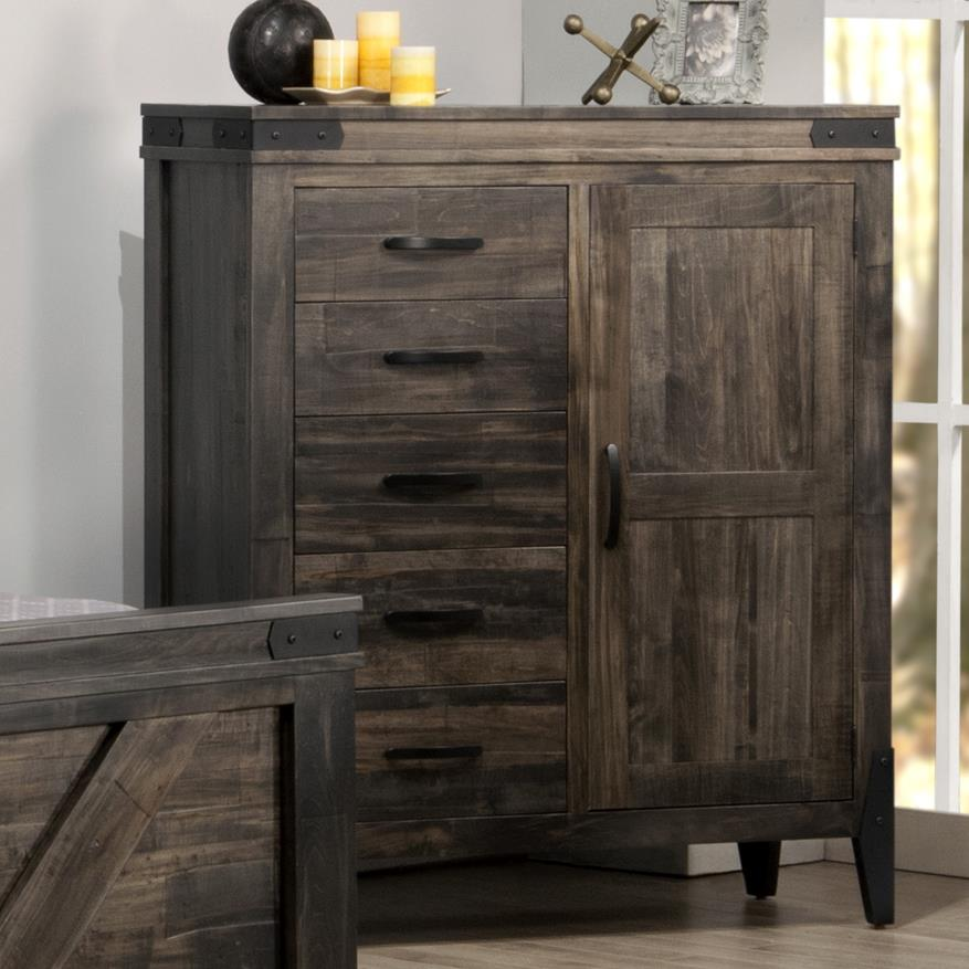 Chattanooga Gentleman's Chest by Handstone at Stoney Creek Furniture