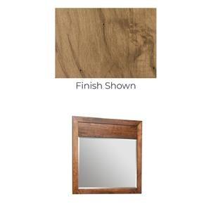 Solid Maple Landscape Mirror