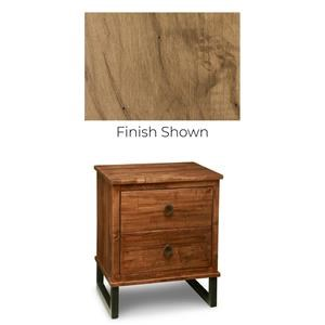 Solid Maple Power Nightstand