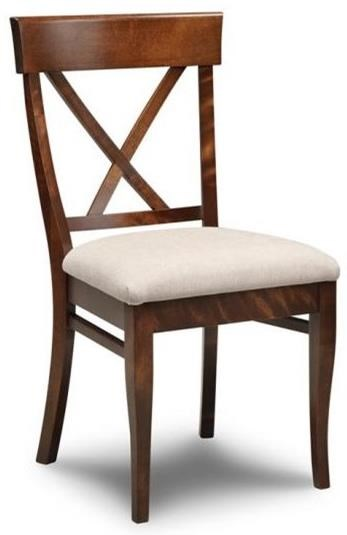 Florence X Back Side Chair by Handstone at Stoney Creek Furniture