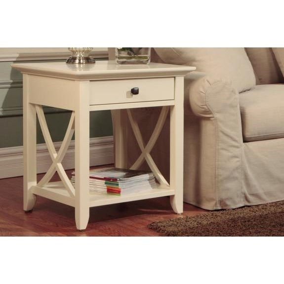Florence End Table by Handstone at Stoney Creek Furniture