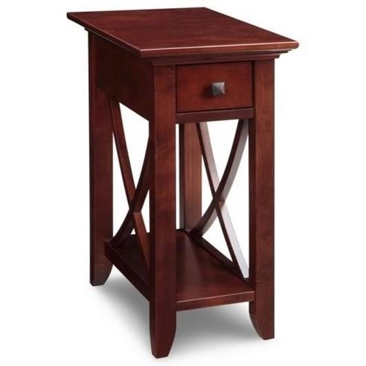 Chair Side Table with Drawer