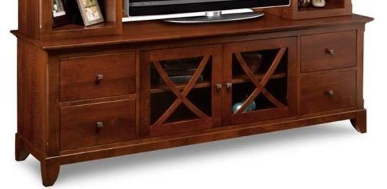 "73"" HDTV Cabinet"