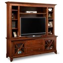 "Handstone Florence 75"" HDTV Cabinet with Hutch - Item Number: P-FLHD74H"
