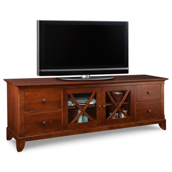 """Florence 83"""" HDTV Cabinet by Handstone at Stoney Creek Furniture"""