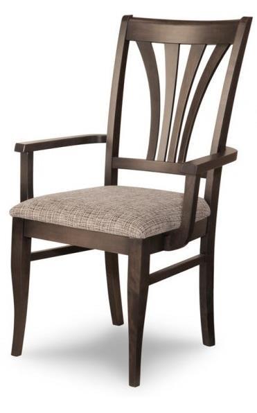 Customizable Verona Dining Arm Chair