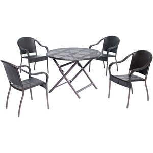 Hanover Outdoor Orleans 5-Piece Dining Set