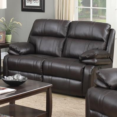 Happy Leather Company 1286 Reclining Love Seat - Item Number: 1286-52P