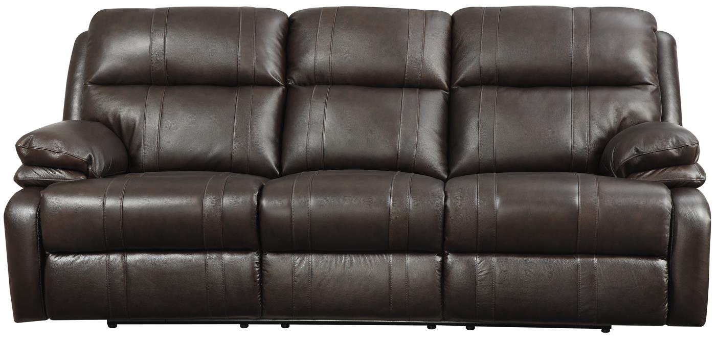 Happy Leather Company 1286 Power Reclining Sofa - Item Number: 1286-5P-3537