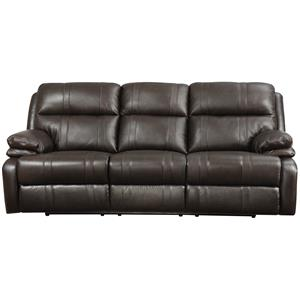 Happy Leather Company 1286 Power Reclining Sofa