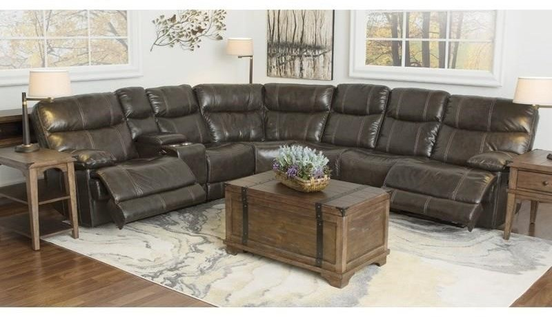 Happy Leather Company 3282B 3 piece sectional - Item Number: 3282K1