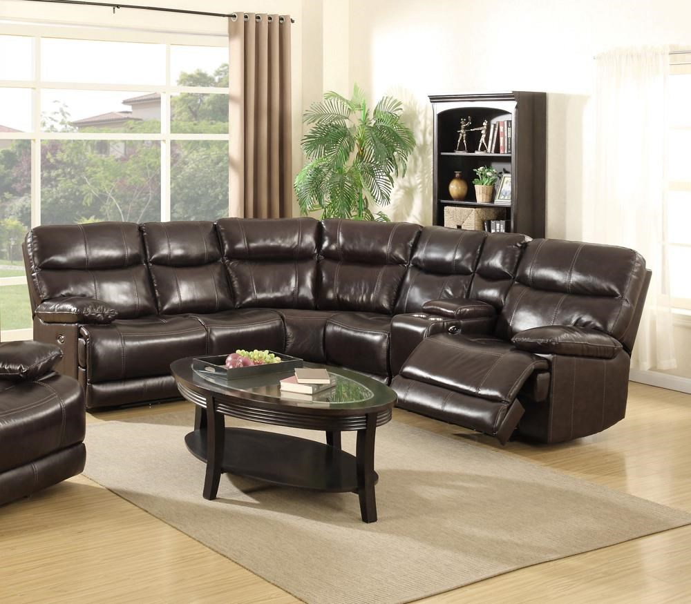 Power Reclining Sectional  Sofa Set