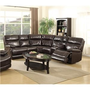 Power Reclining Sectional  Sofa Set