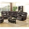 Happy Leather Company 3282B Power Reclining Sectional  Sofa Set - Item Number: 811332826