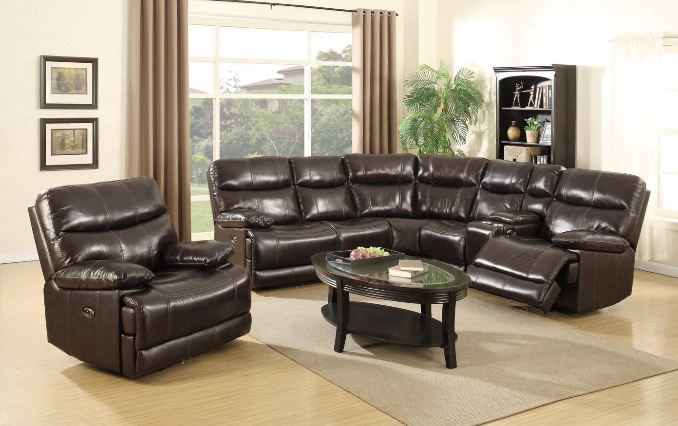 Power Reclining Sectional Sofa and Power Rec