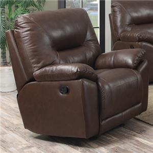Happy Leather Company 5901 Casual Rocker Recliner