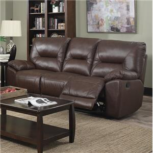 Happy Leather Company 5901 Casual Reclining Sofa