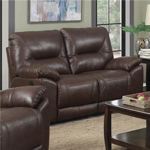 Happy Leather Company 5901 Casual Reclining Loveseat