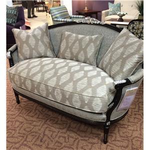 Harden Furniture Artisan Upholstery Settee