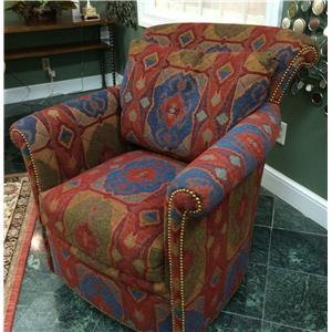 Harden Furniture Artisan Upholstery Swivel Chair