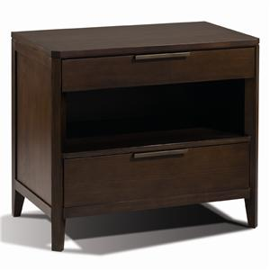 Artistry Duo Night Stand w/ 2 Drawers by Harden Furniture