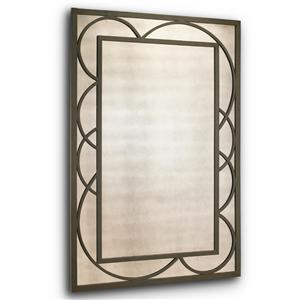 Artistry Metal Frame Sorcery Wall Mirror by Harden Furniture
