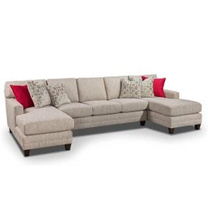 Harden Furniture Next Generation Generations Custom Upholstery Sectional
