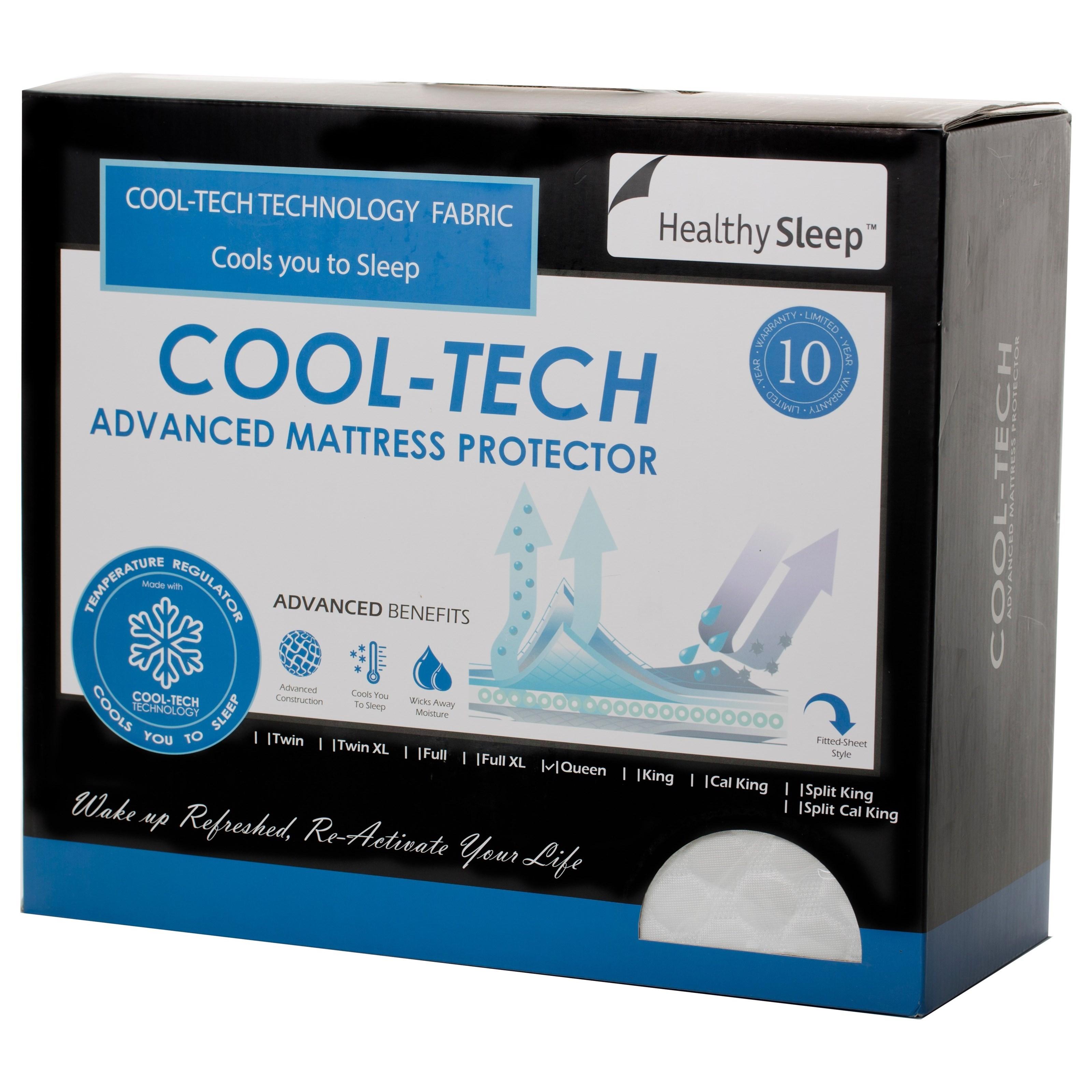 Healthy Sleep CoolTech Mattress Protector COOLTECH-PRO-Q ...