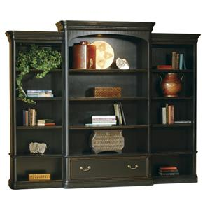 Hekman 7-9100 Executive Wall Bookcase