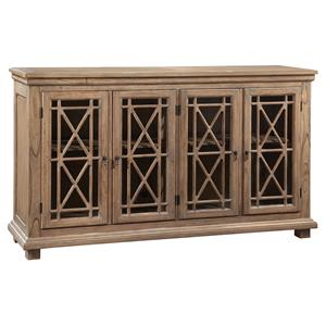 Hekman Accents and Occassional Lattice Front Entertainment Console