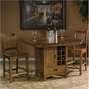 Hekman Arts and Crafts Table and Chair Set