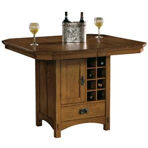 Hekman Arts and Crafts Pub Table