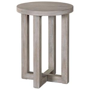 Hekman Berkeley Heights Round Chairside Table
