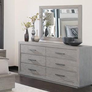 Hekman Berkeley Heights Dresser & Mirror