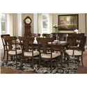 Hekman Charleston Place Dining Table and Side and Arm Chair Set