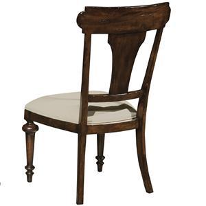 Hekman Charleston Place Round Pedestal Lamp Table