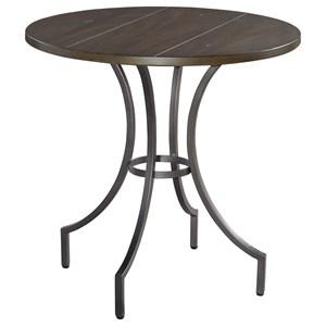 Hekman Homestead Round Lamp Table