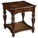 Hekman Vintage European Square End Table - Item Number: 2-3205