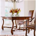Henredon Acquisitions Rectangluar Dining Table with Two 30 Inch Leaves - Shown with Side Chair