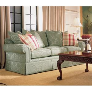 Customizable Sofa With Lawson Arms And Multi Pillow Back